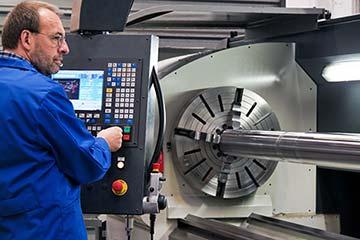 CNC-Bearbeitung Rüsten
