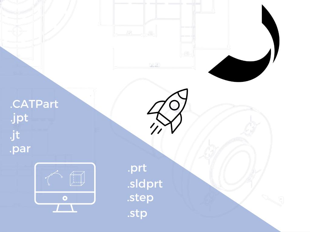CAD-Formate für Spanflug